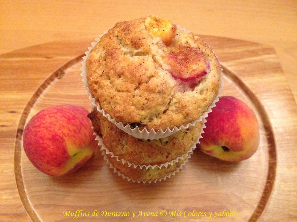 Muffins de Durazno y Avena