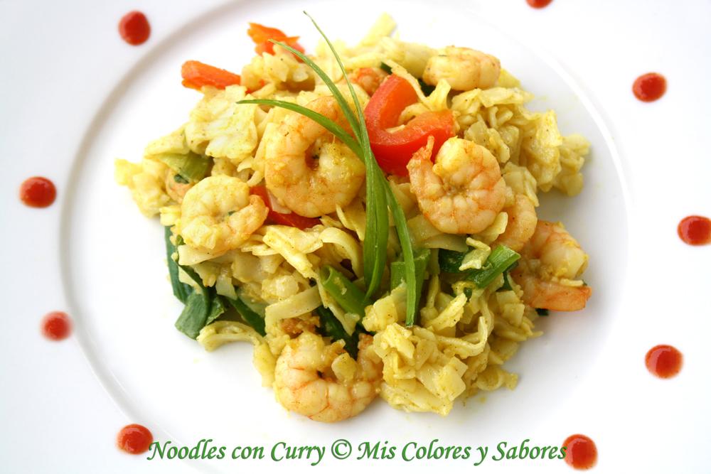 Noodles con Curry