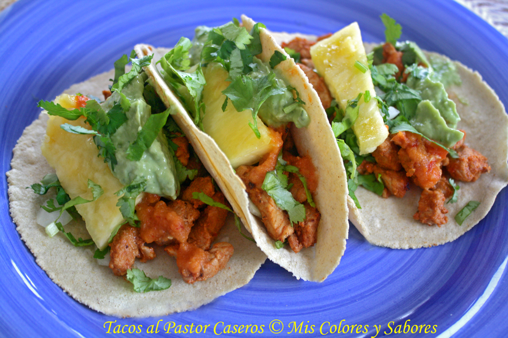 Tacos al Pastor Caseros