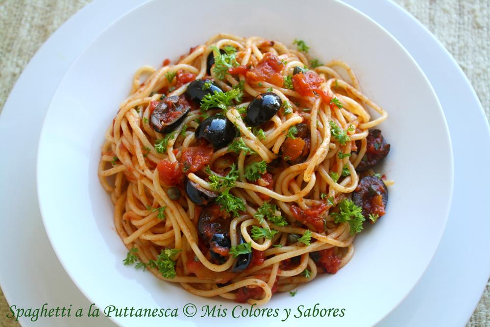 Spaghetti a la Puttanesca