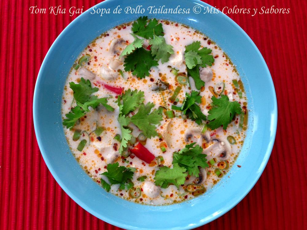 Tom Kha Gai – Sopa de Pollo Tailandesa