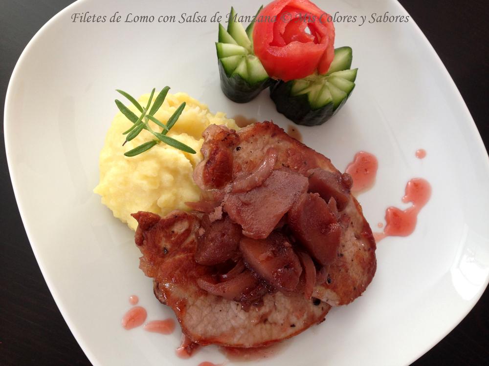 Filetes de Lomo con Salsa de Manzana